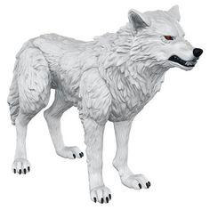 Game Of Thrones - Ghost.  - ca. 10 cm. - plastik. - bevægelig actionfigur.  Game…