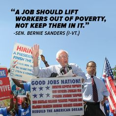 Good jobs and a living wage