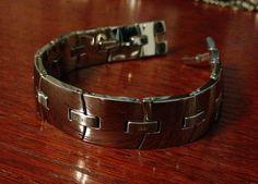 Cerruti 1881 stainless steel bracelet