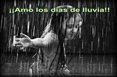 Amo los días de lluvia :D