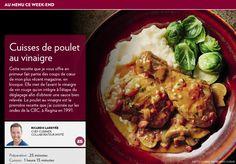 Cuisses de poulet au vinaigre - La Presse+