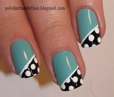 Simple Nail Designs | ... design even the unsteadiest of hands could handle this simple design