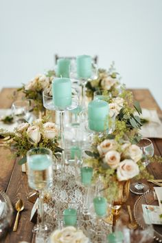 Photography: Cojo Photo - http://www.stylemepretty.com/portfolio/cojo-photo   Read More on SMP: http://www.stylemepretty.com/canada-weddings/2014/12/30/mint-gold-and-blush-wedding-inspiration-shoot/