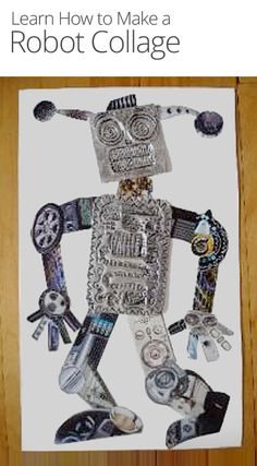 How to Make a Robot Collage