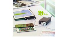 Monba PowerPort 6 (50W 6-Port USB Charging Hub) Multi-Port USB Charger Desktop Charger for Apple iPhone 6 / 6 Plus, iPad Air 2 / mini 3, Samsung Galaxy S6 / S6 Edge and More - Retail Packaging-Black Purchase link:http://www.amazon.com/dp/B012FXKELO Shop link: http://www.amazon.com/shops/Monba