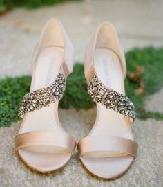 A Beautiful And Sparkly Wedding Shoes | Wedding Inspirations