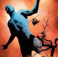 Dr. Manhattan from Before Watchmen: Ozymandias.