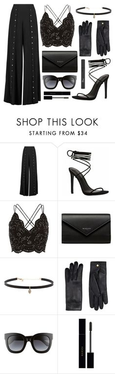 """""""High end"""" by pluto-in-space ❤ liked on Polyvore featuring Haute Hippie, River Island, Balenciaga, Carbon & Hyde, Burberry, Gucci and Christian Dior"""