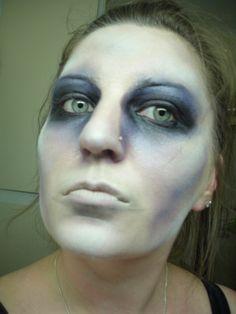 zombie makeup by NVU Makeup