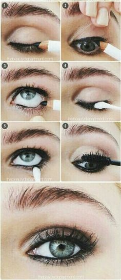 Imagen de eyes, makeup, and make up