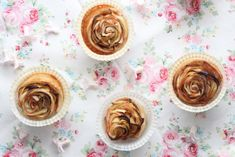 Lisbeths Cupcakes Apple Roses