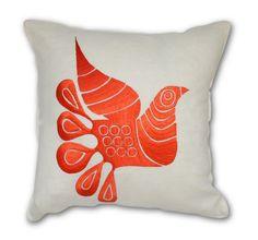 Acapulco Bird Pillow