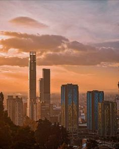 Colombia Travel, South America Travel, Seattle Skyline, Travel Photos, Skyscraper, City Photo, Photo And Video, Sunset, Bella