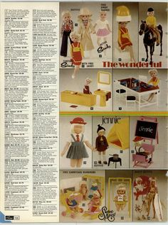 Grattan catalogue 1976-77 I wanted a Sweet April doll so much.