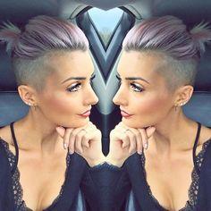 22 Leuchtende Undercut Short Frisuren für Frauen - Frisuren Fur Frauen