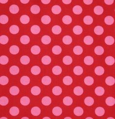 Wall Option #1 - Paint one wall behind bed red, add pink polka dot decals. Paint other walls and ceiling bright white.