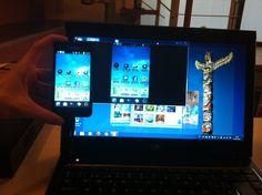 Mostrar pantalla de tu dispositivo Android en un PDI o proyector