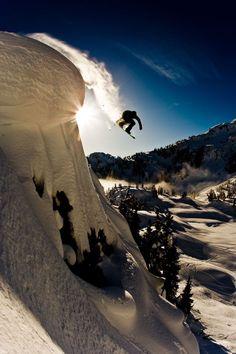 #LL @LUFELIVE #thepursuitofprogression Snowboarding Louie Fountain in Whistler, Canada