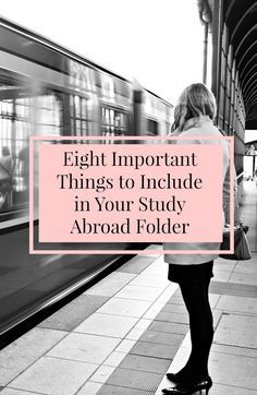 Eight Important Things To Include In Your Study Abroad Folder