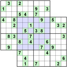 Number Logic Puzzles: 21291 - Sudoku size 9