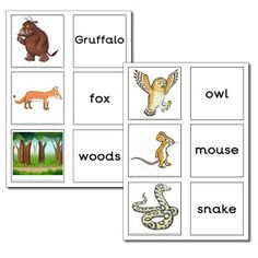 activities for kindergarten children after reading The Gruffalo by Julia Donaldson Activities For Kindergarten Children, Gruffalo Activities, Gruffalo Party, The Gruffalo, Preschool Lessons, Language Activities, Preschool Activities, Kindergarten Literacy, Early Literacy