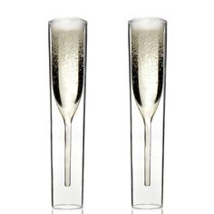 IO Champagne Glass Set Of 2, $45, now featured on Fab.