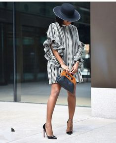 Chic Dress, Classy Dress, Classy Outfits, Chic Outfits, Fashion Outfits, African Wear Dresses, Latest African Fashion Dresses, African Print Fashion, Look Formal