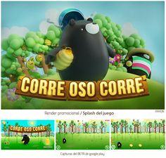 Corre Oso Corre on Behance