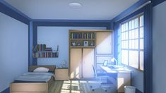 bedroom deviantart anime scenery wallpapers background living animation backgrounds visual episode drawing bedrooms rooms interactive manga simple aesthetic classroom cozy