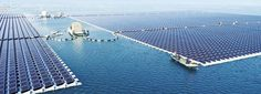 The world's largest floating solar power plant is now online in China. Built by Sungrow, a supplier of PV inverter systems, the plant is now afloat in water 4 to 10 metres deep , and successfully linked to Huainan, China's grid. Energy Use, Save Energy, Solar Energy System, Solar Power, Alternative Energie, China World, Solar Water Heater, Luz Natural, Diy Solar