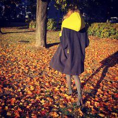 Wollen–felt handmade oversize coat by Sweet Revenge Revenge Fashion, One Shoulder, Shoulder Dress, Sweet Revenge, Oversized Coat, Felt, Handmade, Clothes, Dresses
