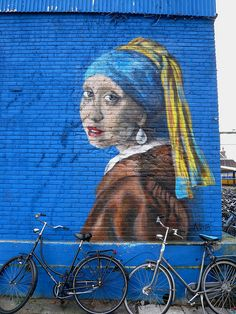 Graffiti Delft- The girl with the pearl earring