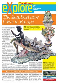 "Thank you Estelle Sinkins for this lovely article in the The Witness. All are welcome to come and join us at Patrick Mavros, 104-106 Fulham Rd, to view our incredible, ""The Great Zambezi"" Exhibition from 18th - 29th  May. Fée will be presenting a slideshow to showcase the inspiration behind the theme of the Hermes scarves and our latest 2016 collection at 11:30 on Friday 20th and Saturday 21st of May."