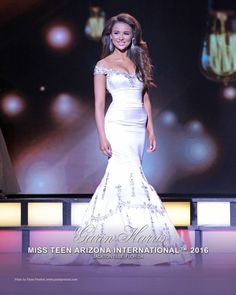 The teens of 2016 have absolutely slayed the pageant runway when it comes to onstage wear, whether it be gowns or even swimsuits. There have been so many amazing gowns we have seen this past year. Some teens have gone above and beyond and wore some absolutely stunning gowns. Here are the top gowns worn by teens this past year. Here: Miss Teen International 2016, Garin Harris. Photo: Miss Teen International