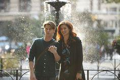 "Christian Borle and Debra Messing in ""Smash."""