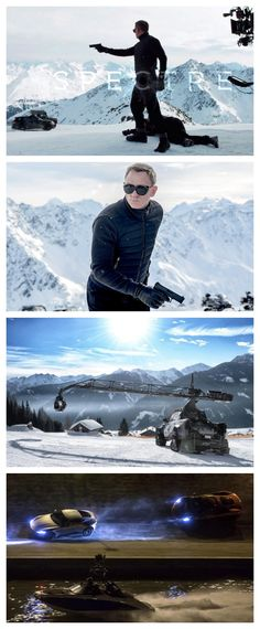 MUST SEE: Behind the scenes of the new James Bond movie Spectre #video #007