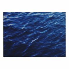 KESS InHouse Chelsea Victoria 'Sea Calm' Blue Nature Dog Place Mat, 13' x 18' * Special dog product just for you. See it now! : Dog food container