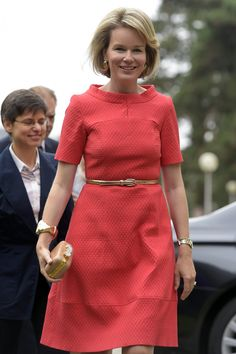 Queen Mathilde visited the Borgerstein Association which celebrated its 40th anniversary