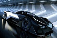 """Geleceğin Otomobili """"Faraday Future FFZERO1"""""""