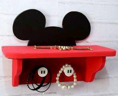 Prateleira do Mickey - Porta Pulseiras e colares