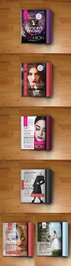 #magazine #design from Psd Templates   DOWNLOAD: https://creativemarket.com/PsdTemplates/311843-6-Magazine-Covers-Template-Bundle?u=zsoltczigler