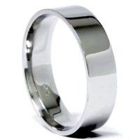 Pompeii3 Inc Lowest Prices 6mm Solid 950 Platinum Flat Comfort Fit Mens Wedding Ring Band from Pompeii3 Inc.