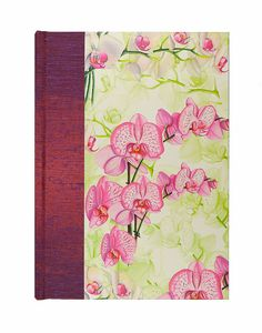 FAB gift for the Gardener MOM, and a great way to track your gardens successes.  Garden Planner Book Journal  EXOTIC ORCHID by WolfiesBindery on Etsy $25 SALE