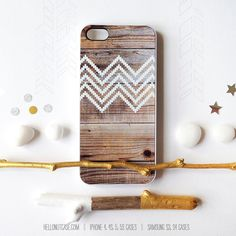 iPhone 5C Case Wood Print, iPhone 5s Case Chevron, iPhone 4 Case, iPhone 4s Case, Geometric iPhone Case, White Chevron iPhone Cover T127 on Etsy, $19.00