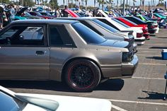 2017 Fabulous Fords Forever: The Venerable Fox-Body Is More Popular Than Ever Photo & Image Gallery Fox Body Mustang, Mustang Cobra, Ford Mustang Coupe, Ford Mustangs, Notchback Mustang, Hot Wheels, Ideas Para, Spirit, Popular