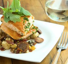 Seared Salmon makes date night simple and impressive. http://www.chefd.com/collections/all/products/seared-salmon