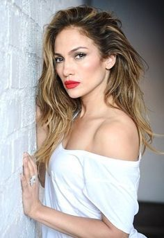 jennifer lopez ombre hair and makeup