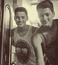 Youtubers Jack and Finn Harris