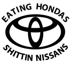 Toyota, bitch ;)