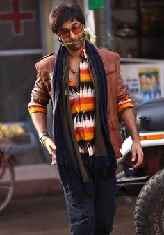 Ranbir Kapoor still from Besharam. #Bollywood #Fashion #Style